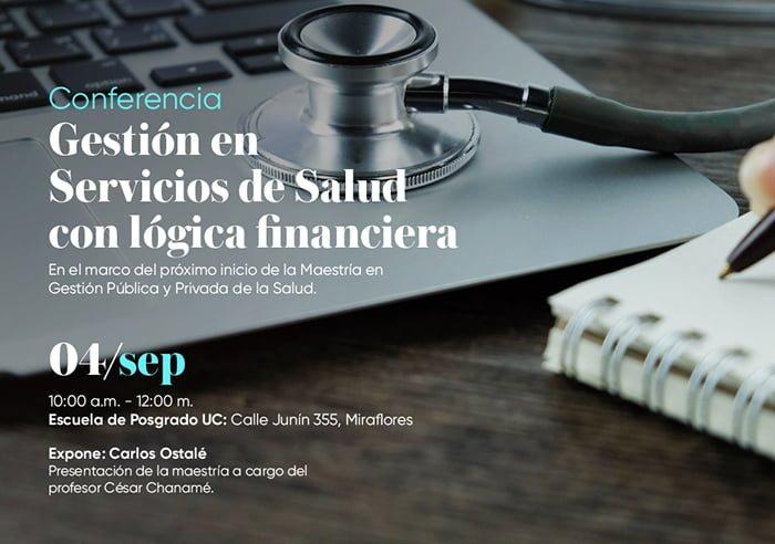 Convocan Conferencia sobre Gestión de Servicios de Salud con lógica financiera