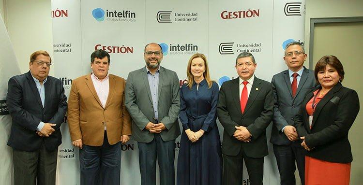 Universidad Continental organizó mesa redonda sobre Educación junto a Intelfin y el diario Gestión