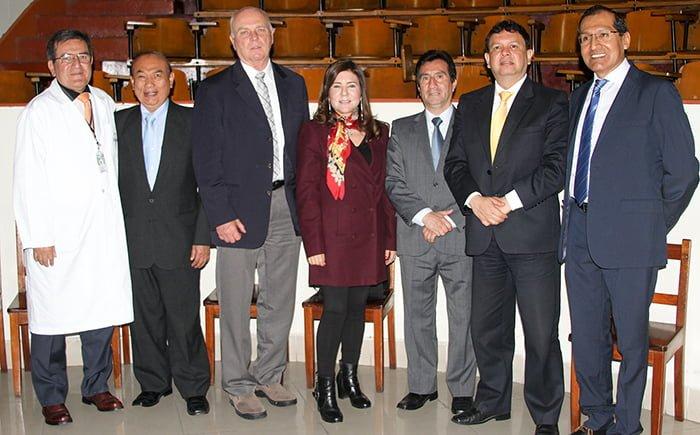Experto de la OMS dictó conferencias organizadas por la Universidad Continental