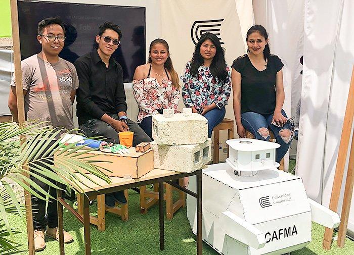 Universidad Continental destacó en fiiS Lima 2018