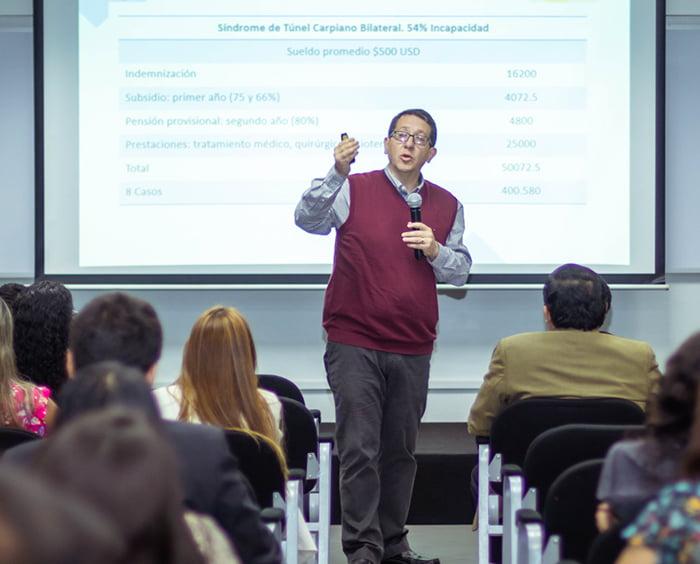 Seminario internacional sobre Seguridad y Salud en el Trabajo fue organizado por la Escuela de Posgrado de la Universidad Continental