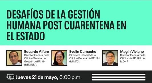 Universidad Continental realizará webinar sobre Desafíos de la Gestión Humana post cuarentena