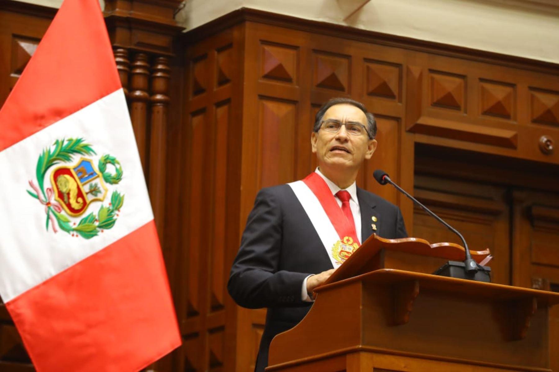 Mensaje a la nación del presidente Martín Vizcarra (Texto íntegro)