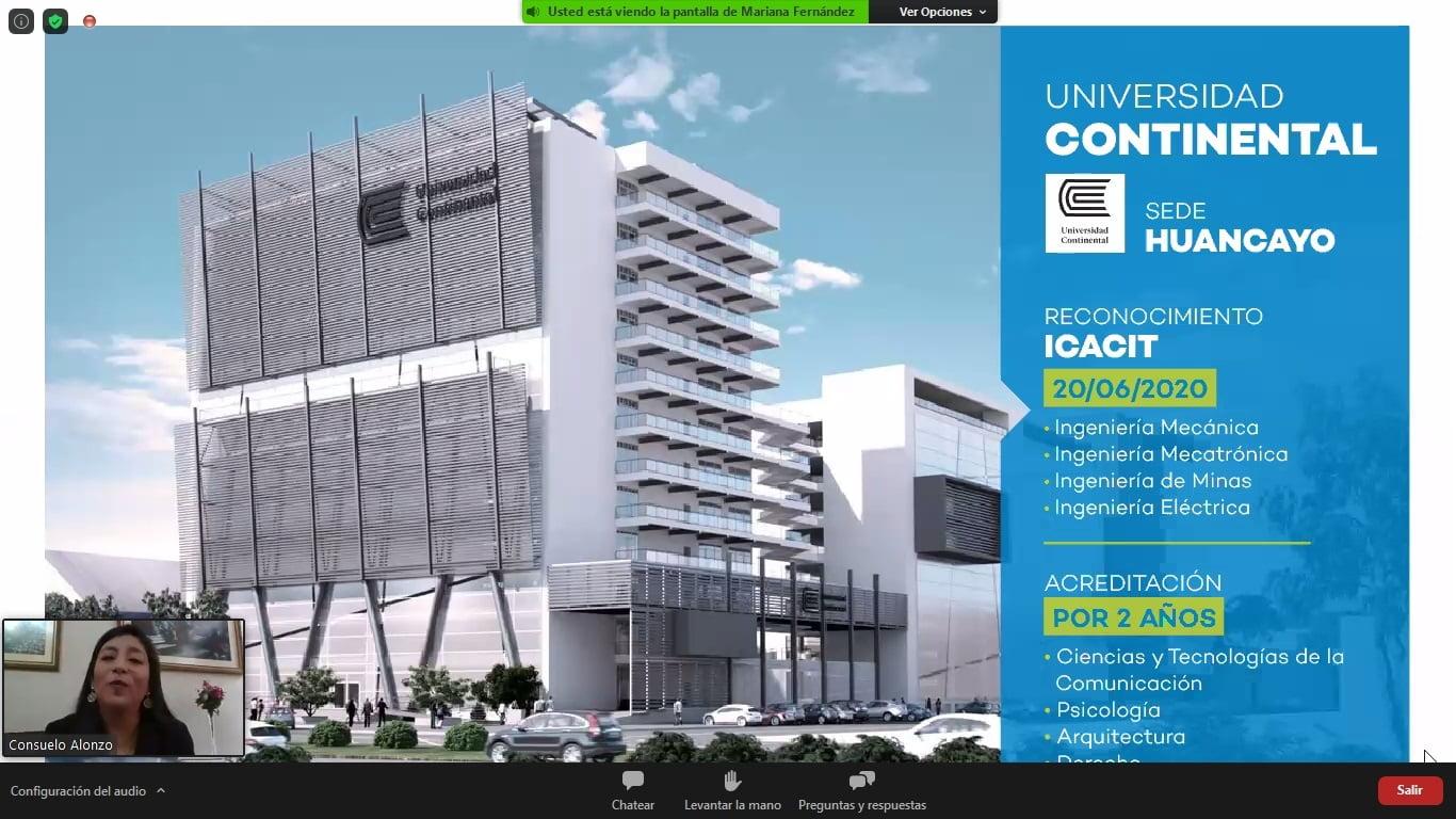Sineace otorga 4 acreditaciones y 4 reconocimientos a Universidad Continental